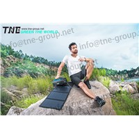 TNE Portable Solar Online Generator Power Bank UPS System with Solar Panel Charger Accessories