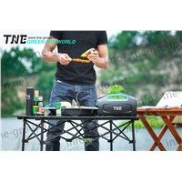 TNE Portable Solar Online Generator Power Bank UPS System for BBQ