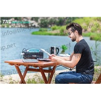 TNE Portable Solar Online Generator Power Bank UPS System with Portable Solar Panels