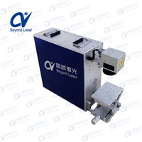 Energy Saving 10W 20W 30W 50W Portable Fiber Aluminum Foil Engraving Machine