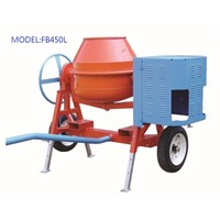 350L Mini Drum Mobile Concrete Batch Mixer