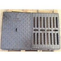 Cast Iron Square/Round/Octagonal Frame As Supporting Base & a Round Grate