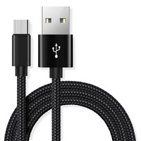 Durable Nylon Braided Micro USB Charger Cable Manufacturer in China