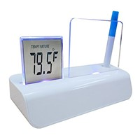 LED Motion Message Digital Table Clock, Desktop Digital Clock for Promotional Gift