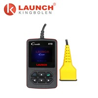Launch Creader 419 Cr419 OBD2 Code Reader with Manufacturer Specific Dtcs Multilingual as Autel Al419