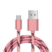 Nylon Braided Micro USB Date Sync Charger Cable