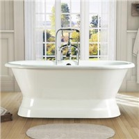 Cast Iron Bathtubs with Pedestal