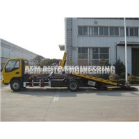 3 Ton Car Carrier Flatbed Wrecker Road Recovery Tow Truck