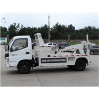 3 Ton Integrated Road Recovery Wrecker Tow Truck