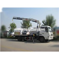 5 Ton Car Carrier Flatbed Tow Truck with Crane