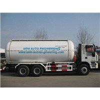 Bulk Cement/Powder Material Tank Truck & Semi Trailer