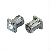 High Quality 7/16 DIN Flange RF Coaxial Connector