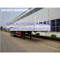 Three Axles Bulk Cargo Goods Carrier Semi Trailer