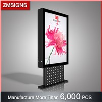 ZM-208 Solar Powered Outdoor Advertising LED Light Box ZMsigns