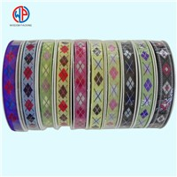 Custom Polyester Jacquard Weave Ribbon