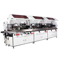 1 to 6 Colors Automatic UV Screen Printing Machine for Bottles
