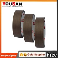 High Temperature PTFE Coated Fiberglass Teflon Tape for Seal Machine for Coffee Bag