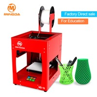 New Version MINGDA 3D Finger Printing, High Precision 3d-Printer