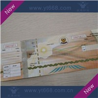 UV Invisible Fiber Watermark University Certificate
