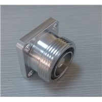 Straight Flange 7/16 DIN RF Coaxial Connector for Cable
