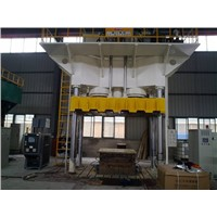 Hydraulic Press for Composite Material Forming