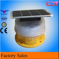 Solar Power Warning Lighting for Broadcast Buidling/Medium Intensity ICAO FAA Tower Obstruction Light