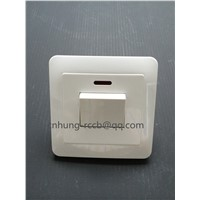 45A, 1 Gang DP Switch with Neon CNHUNG Switch