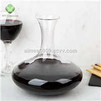 Hand Blown Lead-Free Good Quality Classic Design Crystal Glass Wine Decanter