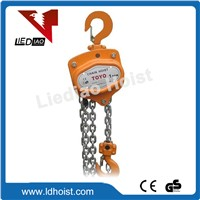 High Quality TOYO Manual Chain Hoist