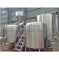 1000L Stainless Steel Restaurant Beer Fermentation Plant