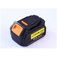 Replace Li-Ion Battery 14.4V of Dcb130 for Dewalt Power Tool