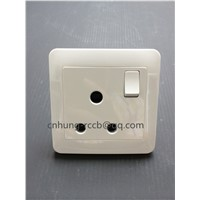 UK Switch Round Plug with Switch with or without Lamp
