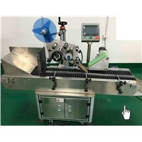 Automatic Horizontal Round Wine Bottle Sticker Labeling Machine