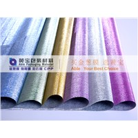 PRINTING PLASTIC PACKING MATERIAL GLITTER WRAPPING FILM PAPER