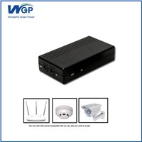 DC 12v UPS Battery Backup 12 Volt CDMA WiFi Router Mini UPS Battery 2000mAh