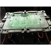 Plastic Hot Runner Injection Mould, LKM Mold Base, S136 Steel. PC Material