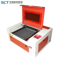 Low Price 40w Mini Desktop Laser Engraving Machine SCT-E3050 300*500mm