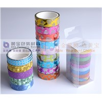 Crafty Rolls Decorative Glitter Washi Tape Perfect for Scrapbooking, DIY Crafts & Gift Wrapping