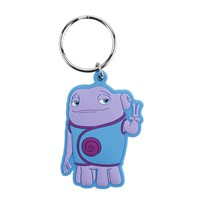 Customized Alien Shape Key Chain Key Ring