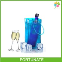 OEM Waterproof Plastic PVC Wine Ice Bag with Handle