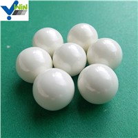 Yttria Stabilized White Zirconia Ceramic Grinding Ball Used On Mill Machine