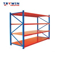 Sanyi Light Duty Shelf Warehouse Storage Racking Suitable Warehouse Supermarket Workshop with High Quality