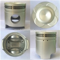Engine Parts, Piston 6d40 with Pin & Clips, High Quality & Competitive Price