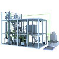 Mini Capacity Palm Oil Production Process Machine