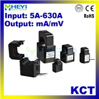 HEYI Split Core Cts 5-630A Precision Micro Current Transformer KCT MA Or MV Output