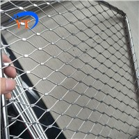 Architectural 316l Stainless Steel Rope Mesh