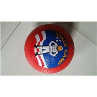 "Playground Ball 8.5"", Rubber, Graphic, LOGO, Design Customized"
