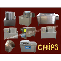 Potato Chips Making Machine Price/Semi-Automatic Potato Chips Production Line