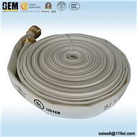 "2.5"" 10bar 13bar PVC Single Jacket Fire Hose for Fire Fighting Equipments"