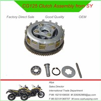 CG125 Motorcycle Clutch Assembly